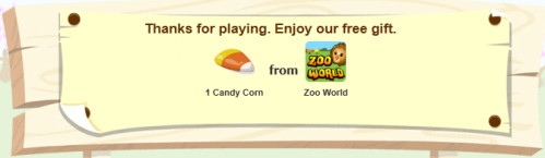 Zoo World Gives Away Free Candy Corn