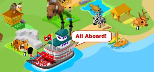 The secret to getting the Noah's Ark achievement