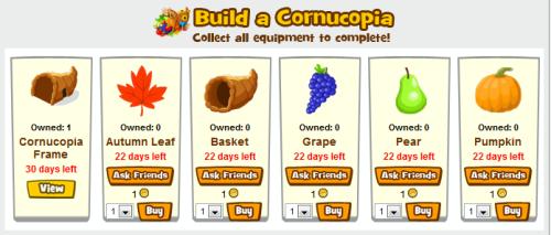 Zoo World Cornucopia Shop Screen