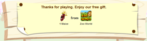 Zoo World is giving away free Maize