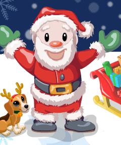 Santa Visits Zoo World
