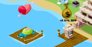Valentine's Day Dock