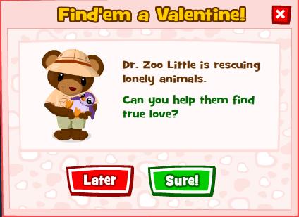Valentine's Season in Zoo World