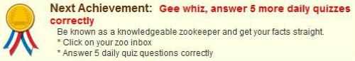 New Zoo World Achievements
