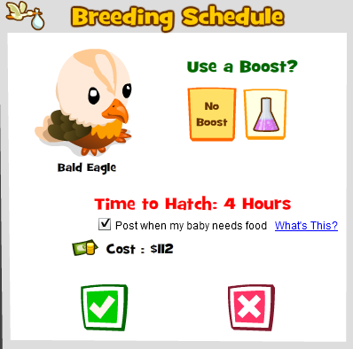 Breeding Popup