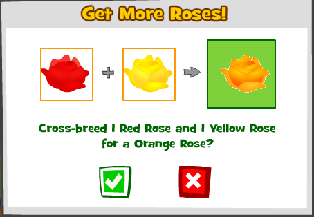 Combining Roses