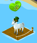 Click the dock to open up Saint Patrick's Day