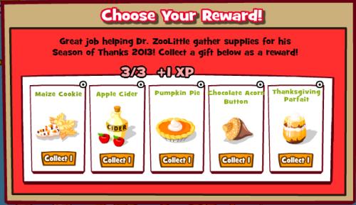 Choose Reward
