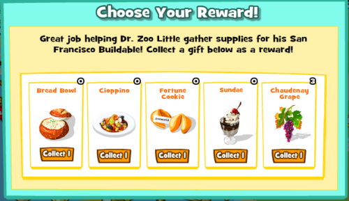 Choose Your Reward SF
