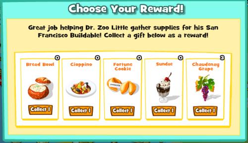 Choose Your Reward SF