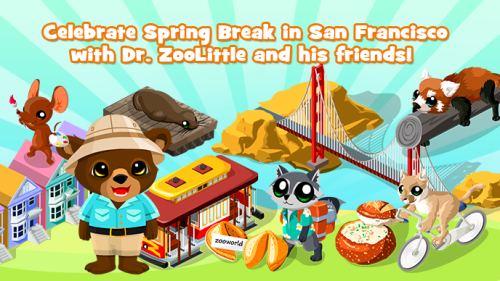 San Francisco Spring Break Preloader