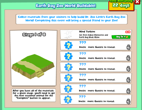 Earth Day Buildable Menu