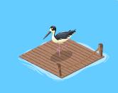 Summer Luau Dock