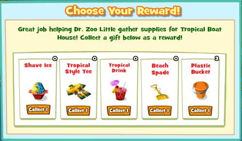 Tropical Choose Reward