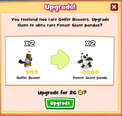 Zoolympics Upgrade
